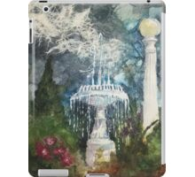 Plaza Park Fountain - Orange, CA iPad Case/Skin