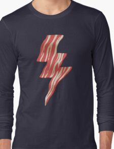 powered by bacon Long Sleeve T-Shirt