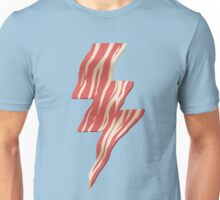 powered by bacon Unisex T-Shirt