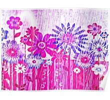 Blossoming Spring Flowers Poster