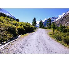 Road in the Alps Photographic Print
