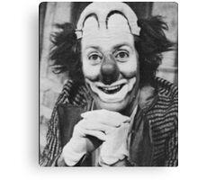Patof le roi des clowns Canvas Print