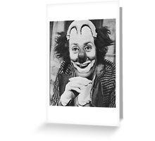 Patof le roi des clowns Greeting Card