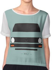 MK2 simple front end design Chiffon Top