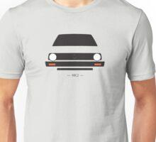 MK2 simple front end design Unisex T-Shirt