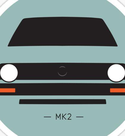 MK2 simple front end design Sticker