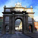 Innsbruck's Triumphal Arch by annalisa bianchetti