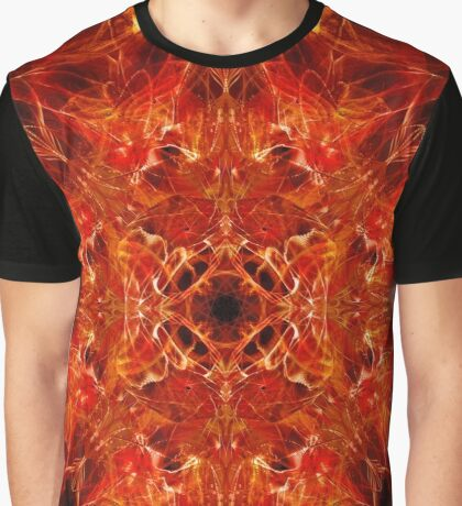 Dragonheart - Fire Orange Graphic T-Shirt