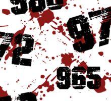 1000 minus 7 Tokyo Ghoul Sticker