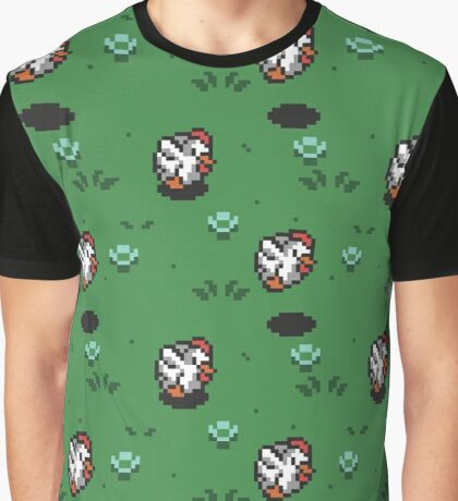 8-bit Cucco Graphic T-Shirt