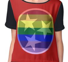 Tennessee Pride Flag Chiffon Top
