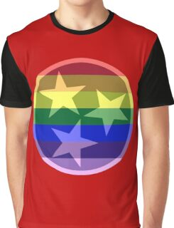 Tennessee Pride Flag Graphic T-Shirt