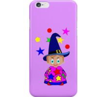 A Boy Wizard  – No6d in the Toon Boy series iPhone Case/Skin