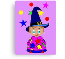 A Boy Wizard  – No6d in the Toon Boy series Canvas Print