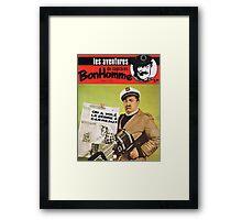 Capitaine Bonhomme Framed Print
