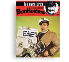 Capitaine Bonhomme Canvas Print