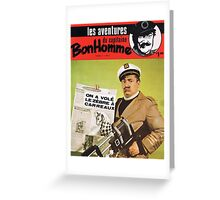 Capitaine Bonhomme Greeting Card