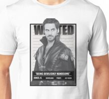 Wanted Handsome Jones Unisex T-Shirt