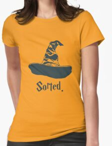 Harry Potter - Sorted Womens Fitted T-Shirt
