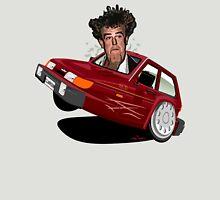 Reliant Robin Jeremy Clarkson caricature Unisex T-Shirt