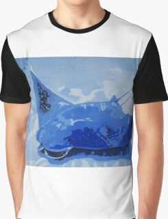 Blue Sting Ray Graphic T-Shirt