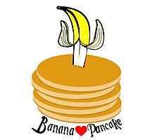 Banana Pancake Forever Photographic Print