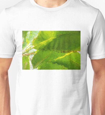 Whimsical Green Patterns - Tropical Impressions  Unisex T-Shirt