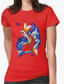the Carp Womens Fitted T-Shirt