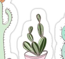 CACTI DRAWING Sticker
