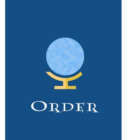 Order  Sticker