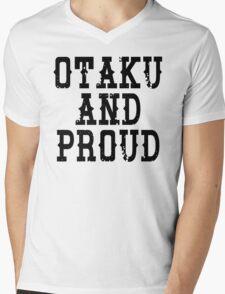 Otaku and Proud Mens V-Neck T-Shirt