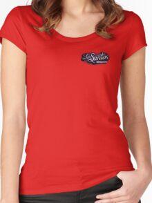 Los Santos Customs Women's Fitted Scoop T-Shirt