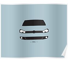 MK6 simple front end design Poster