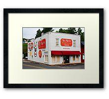 No Name Deli & Restaurant Framed Print