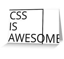 CSS Greeting Card