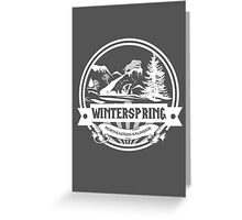 Winterspring - Northeastern Kalimdor Greeting Card