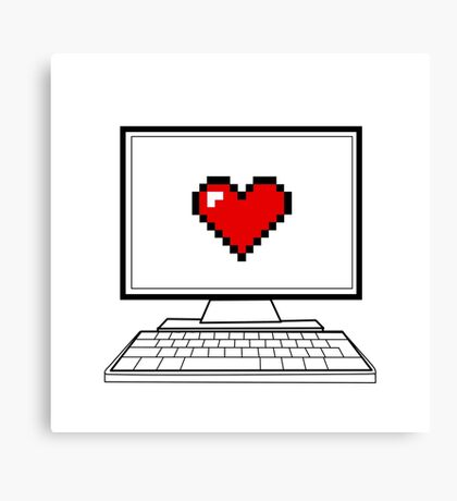 It's where the <3 is  Canvas Print