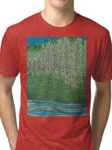 Lombardy Poplar Tri-blend T-Shirt