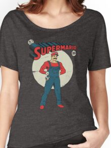 Super Mario Women's Relaxed Fit T-Shirt