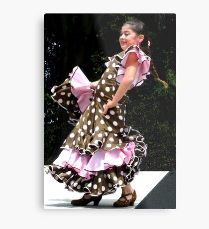 """""""Flamenco!"""" Metal Print"""