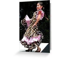 """Flamenco!"" Greeting Card"