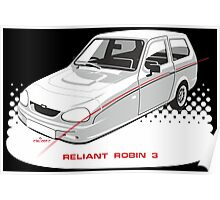 Reliant Robin 3 Poster