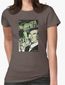 Herbert West Re-Animator Womens Fitted T-Shirt