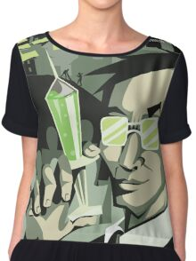 Herbert West Re-Animator Chiffon Top