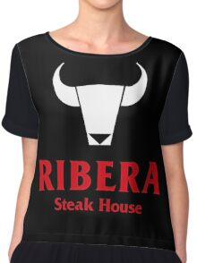 Ribera Steak House Chiffon Top