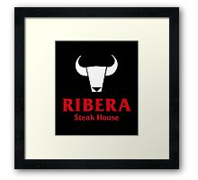 Ribera Steak House Framed Print