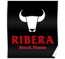 Ribera Steak House Poster