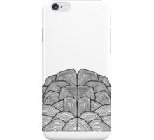 plain brain iPhone Case/Skin