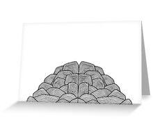 plain brain Greeting Card