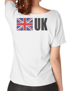 UK, United Kingdom, GREAT BRITAIN, Team, Sport, GB, Union Jack, British Flag, ON WHITE Women's Relaxed Fit T-Shirt